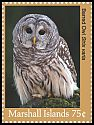 Cl: Barred Owl (Strix varia)(Out of range) (I do not have this stamp)  new (2018)