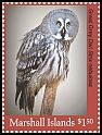 Cl: Great Grey Owl (Strix nebulosa)(Out of range) (I do not have this stamp)  new (2018)