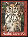 Cl: Striped Owl (Pseudoscops clamator)(Out of range) (I do not have this stamp)  new (2018)