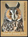 Cl: Northern Long-eared Owl (Asio otus)(Out of range) (I do not have this stamp)  new (2018)
