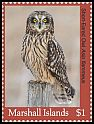 Cl: Short-eared Owl (Asio flammeus)(I do not have this stamp)  new (2018)