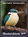 Cl: Sacred Kingfisher (Todirhamphus sanctus)(I do not have this stamp)  new (2019)