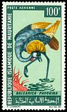 Cl: Grey Crowned-Crane (Balearica regulorum)(Out of range)  SG 265 (1967) 200 [3/12]