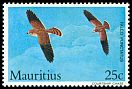 Cl: Mauritius Kestrel (Falco punctatus)(Endemic or near-endemic)  SG 678 (1984) 75