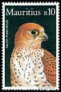 Cl: Mauritius Kestrel (Falco punctatus)(Endemic or near-endemic)  SG 681 (1984) 325
