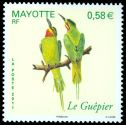 Cl: Madagascar Bee-eater (Merops superciliosus) <<Le Guepier>>  new (2011)  [6/13]