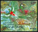 Cl: Resplendent Quetzal (Pharomachrus mocinno) <<quetzal>> (Repeat for this country)  SG 2367 (1996) 55