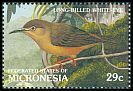 Cl: Long-billed White-eye (Rukia longirostra)(Endemic or near-endemic)  SG 240 (1991)