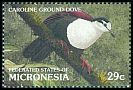 Cl: Caroline Islands Ground-Dove (Gallicolumba kubaryi) SG 244 (1991)