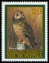 Cl: Short-eared Owl (Asio flammeus) SG 405 (1994)