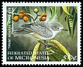 Cl: Grey White-eye (Zosterops cinereus)(Endemic or near-endemic)  SG 629 (1998)