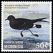 Cl: Wilson's Storm-Petrel (Oceanites oceanicus)(I do not have this stamp)  new (2014)