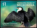 Cl: Little Pied Cormorant (Phalacrocorax melanoleucos)(I do not have this stamp)  new (2015)