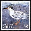 Cl: Caspian Tern (Sterna caspia)(Out of range) (I do not have this stamp)  new (2014)