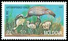 Cl: Demoiselle Crane (Anthropoides virgo) <<Cucorul mic>>  SG 303 (1998)