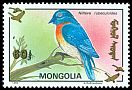 Cl: Blue-throated Flycatcher (Cyornis rubeculoides)(Out of range and no other stamp)  SG 2397 (1993)