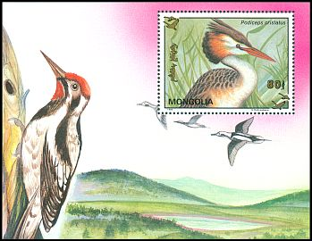 Cl: Great Crested Grebe (Podiceps cristatus)(Repeat for this country)  SG 2398a (1993)