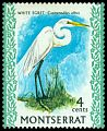 Cl: Great Egret (Ardea alba) SG 245 (1970) 100