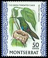 Cl: Green-throated Carib (Eulampis holosericeus) SG 251 (1970) 500
