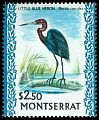 Cl: Little Blue Heron (Egretta caerulea) SG 253a (1970) 500