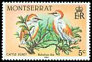 Cl: Cattle Egret (Bubulcus ibis)(Repeat for this country)  SG 600 (1984)