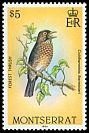 Cl: Forest Thrush (Cichlherminia lherminieri)(Endemic or near-endemic)  SG 612 (1984)