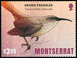 Cl: Brown Trembler (Cinclocerthia ruficauda) SG 1573a (2016)  [10/14]