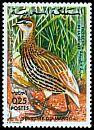 Cl: Double-spurred Francolin (Francolinus bicalcaratus) SG 404 (1974) 40