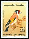 Cl: European Goldfinch (Carduelis carduelis) <<Chardonneret>>  SG 885 (1995)