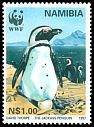 Cl: Jackass Penguin (Spheniscus demersus)(Repeat for this country)  SG 714 (1997)