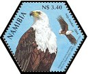 Cl: African Fish-Eagle (Haliaeetus vocifer)(Repeat for this country)  SG 982a (2004)  [3/54]