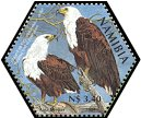 Cl: African Fish-Eagle (Haliaeetus vocifer)(Repeat for this country)  SG 982b (2004)  [3/54]