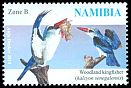 Cl: Woodland Kingfisher (Halcyon senegalensis)(Repeat for this country)  SG 1251 (2014)  [9/27]
