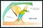 Cl: Swallow-tailed Bee-eater (Merops hirundineus)(Repeat for this country)  SG 1261 (2015)  [9/32]