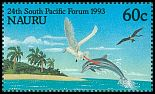 Cl: Great Frigatebird (Fregata minor)(Repeat for this country)  SG 411 (1993)