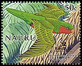 Cl: Stephen's Lorikeet (Vini stepheni)(Out of range)  SG 602b5 (2005)  [6/9]