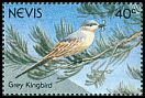 Cl: Grey Kingbird (Tyrannus dominicensis) SG 607 (1991)
