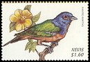 Cl: Painted Bunting (Passerina ciris)(Out of range)  SG 1326 (1999)