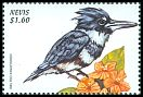 Cl: Belted Kingfisher (Ceryle alcyon) SG 1327 (1999)