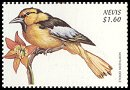 Cl: Bullock's Oriole (Icterus bullockii)(Out of range and no other stamp)  SG 1329 (1999)