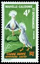 Cl: Kagu (Rhynochetos jubatus)(Endemic or near-endemic)  SG 408 (1966) 140