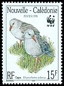 Cl: Kagu (Rhynochetos jubatus)(Endemic or near-endemic)  SG 1152 (1998)