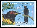 Cl: Crow Honeyeater (Gymnomyza aubryana) <<Meliphage toulou>> (Endemic or near-endemic)  SG 1414 (2007)  [4/29]