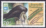 Cl: New Caledonian Crow (Corvus moneduloides) SG 1232 (2001)  [1/9]