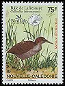 Cl: New Caledonian Rail (Gallirallus lafresnayanus) <<Rale de Lafresnaye>>  SG 1377 (2006)  [5/30]