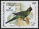 Cl: Horned Parakeet (Eunymphicus cornutus uvaeensis) <<Peruche d'Ouvea>> (Endemic or near-endemic)  SG 1350 (2005)  [5/8]