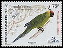 Cl: Horned Parakeet (Eunymphicus cornutus) <<Peruche cornue>> (Endemic or near-endemic)  SG 1351 (2005)  [5/8]