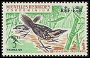Cl: Guadalcanal Thicketbird (Megalurulus whitneyi) SG 108 (1963) 1000 [3/5]