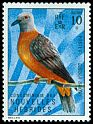 Cl: Baker's Imperial-Pigeon (Ducula bakeri) SG 159 (1972) 25