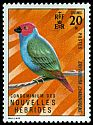 Cl: Royal Parrotfinch (Erythrura regia) SG 161 (1972) 40